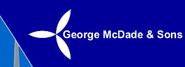 George McDade and Sons Logo